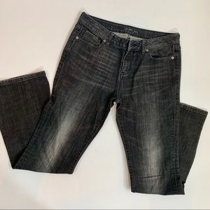 London Jeans Washed Black Bootcut